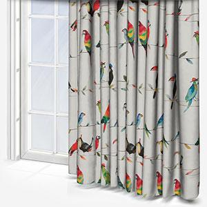 Toucan Talk Paintbox Curtain