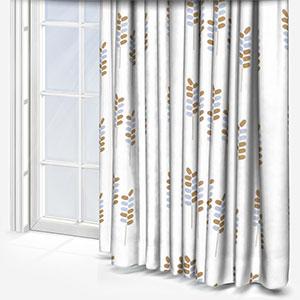 Sonova Studio Barley Stem Saffron and Sky Curtain
