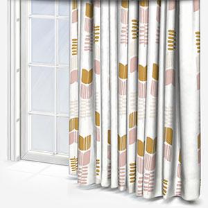 Sonova Studio Bloem Blush and Olive Curtain