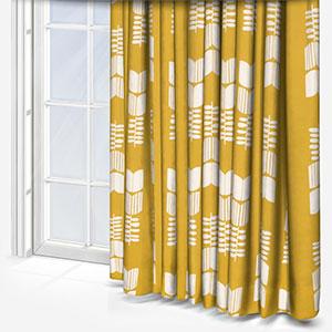 Sonova Studio Bloem Ochre Curtain