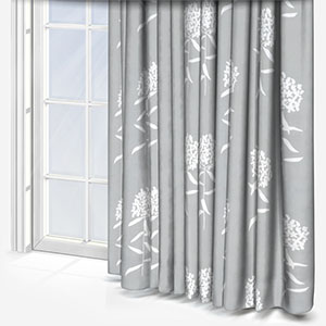 Sonova Studio Flora Bloom French Grey Curtain