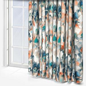 Studio G Marissa Teal & Spice Curtain