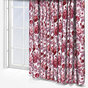Swatch Box Finesse Magenta Curtain