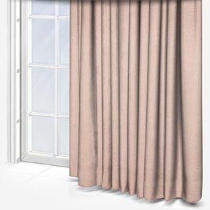 Touched By Design Crushed Silk Blush Curtain