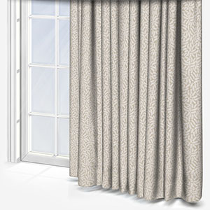 Touched By Design Ficus Leaf Natural Linen Curtain