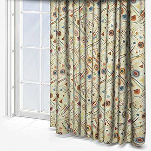 Touched By Design Kandinsky Vintage Curtain