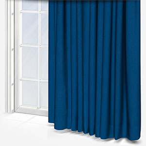 Touched By Design Naturo Petrol Blue Curtain