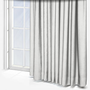 Touched By Design Soft Recycled White Curtain
