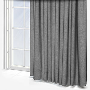 Touched By Design Sparkle Recycled Black Curtain