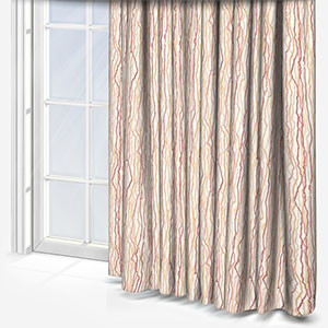 Touched By Design Squiggle Blush & Spice Curtain
