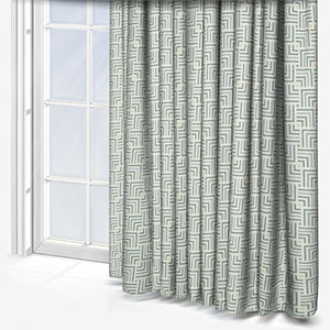 Touched By Design Symmetry Mint Curtain