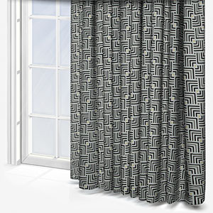 Touched By Design Symmetry Monochrome Curtain