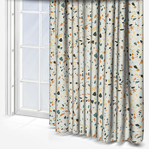 Touched By Design Terrazzo Grey Curtain