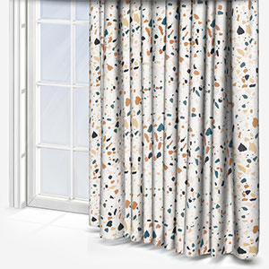 Touched By Design Terrazzo Natural Curtain