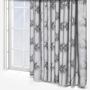 Voyage Wallace Stag Linen Curtain