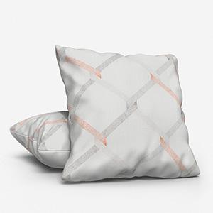Ceremony Dentelle Brodee Zari Gris/Copper Cushion