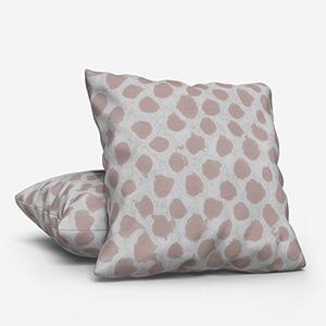 Costa Rica Tissus Alveole Taupe Cushion