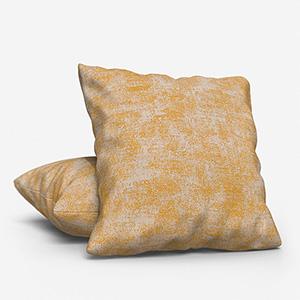 Effect Texture Jaune Cushion