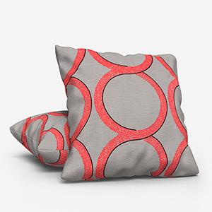 Ohio Tissus Mousse Corail Cushion
