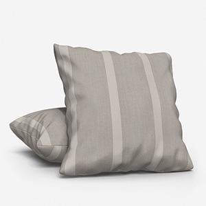 Ohio Tissus Rayure Beige Cushion