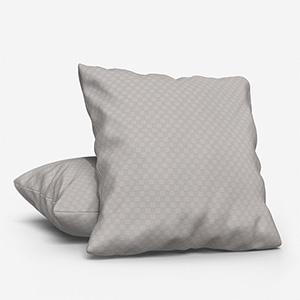 Tissus Berlin Damier Perle Cushion