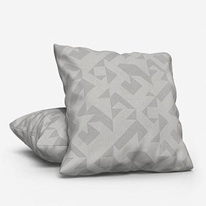 Tissus Berlin Puzzle Gris Cushion