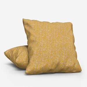Tissus Paso Doble Uni Citron Cushion