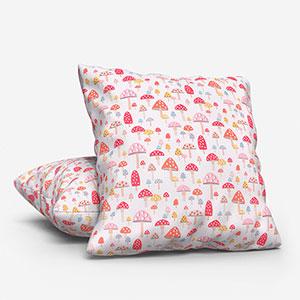 Cath Kidston Mini Mushrooms Multi Cushion