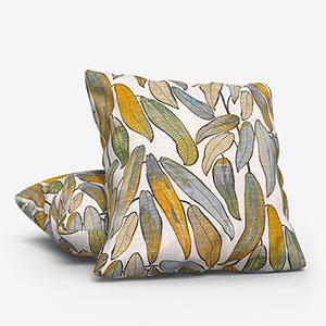 Edinburgh Weavers Tropical Leaf Natural Cushion