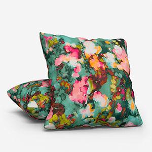 Edinburgh Weavers Utopia Jade Cushion