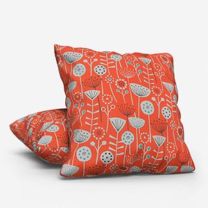 Bergen Burnt Orange Cushion