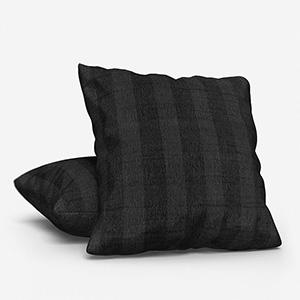 Mono Stripe Black Cushion