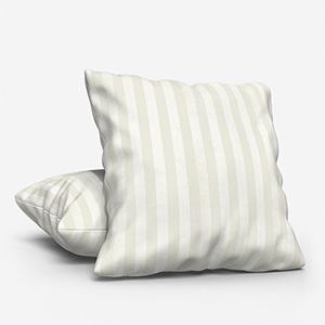 Mono Stripe White Cushion