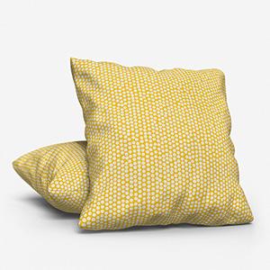 Spotty Ochre Cushion