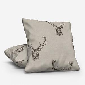 Stag Grey Cushion
