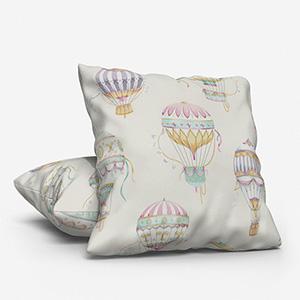 Balloons Aqua Cushion