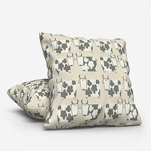 Moo Moo Linen Cushion