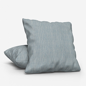 Pinstripe Wedgewood Cushion