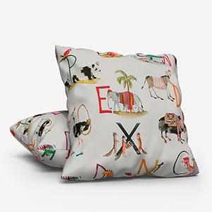 Animal Alphabet Paintbox Cushion
