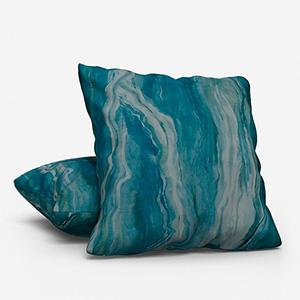 Lava Teal Cushion