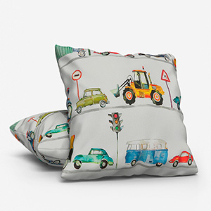 On the Road Paintbox Cushion