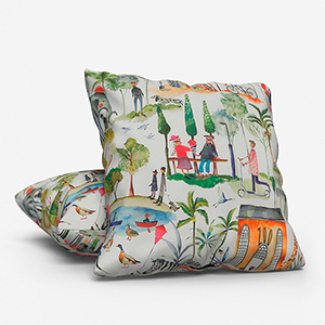 Out and About Paintbox Cushion