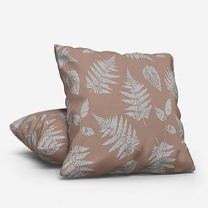 Foliage Taupe Cushion