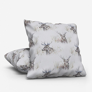 Voyage Wallace Stag Linen Cushion