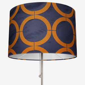 Cercle Broderie Bleu Curry Lamp Shade
