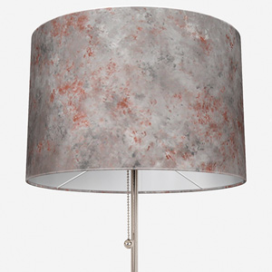 Casadeco Earth Tissu Velour Lunaire Anthracite/Cuivre Lamp Shade