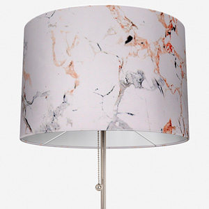 Earth Velours Marbre Gris/Cuirve Lamp Shade