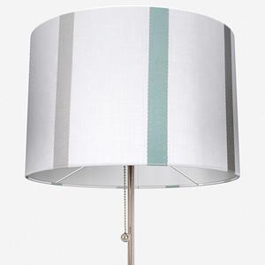 Ohio Tissus Rayure Bleu Lamp Shade