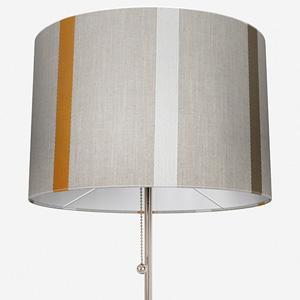 Ohio Tissus Rayure Jaune Lamp Shade