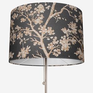 Casadeco Tissu Arbre Lin Noir Lamp Shade